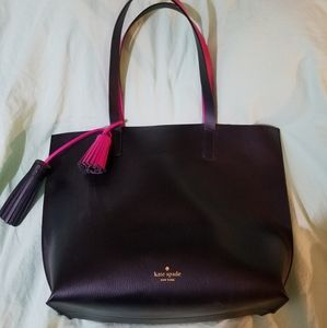 Kate Spade Foster Court Tasha Leather Tote Bag